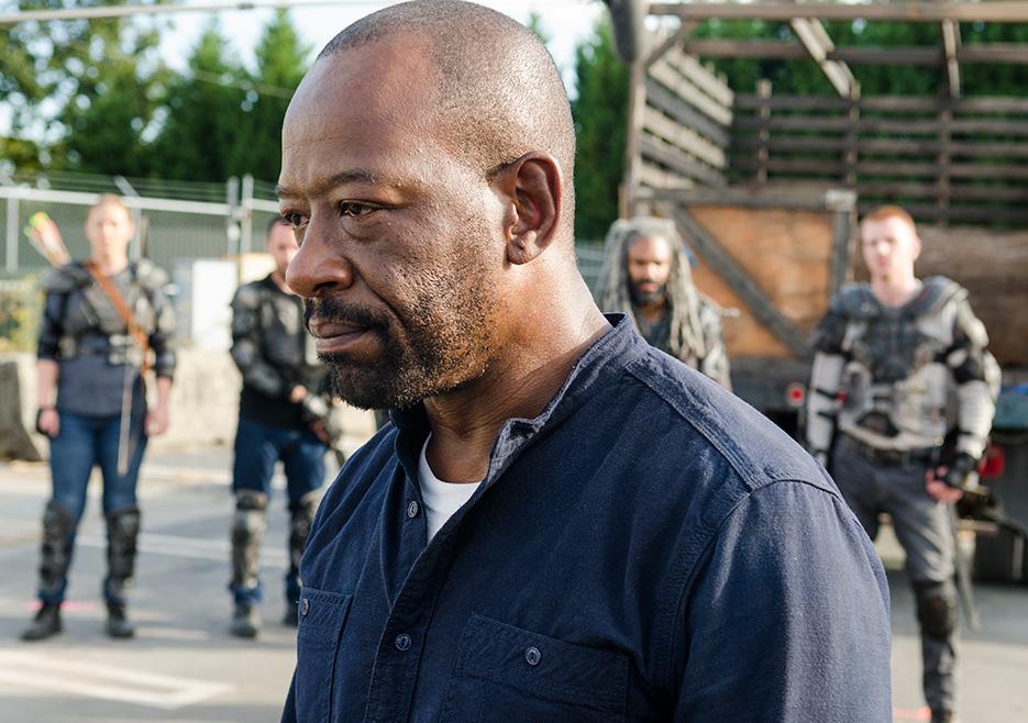 Morgan Jones (Lennie James) in The Walking Dead season 7 episode 13 Photo by Gene Page/AMC