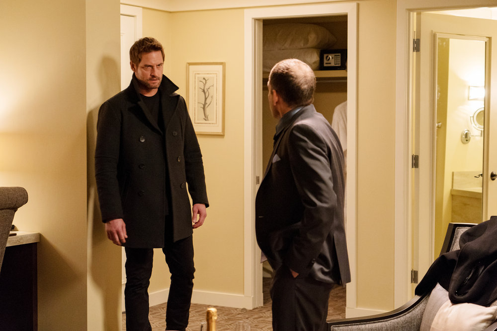 "COLONY -- ""The Big Empty"" Episode 309 -- Pictured: Josh Holloway as Will Bowman -- (Photo by: Daniel Power/USA Network)"